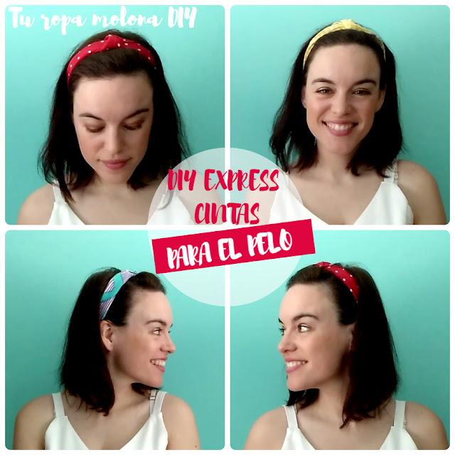 DIY EXPRESS: cintas para el pelo
