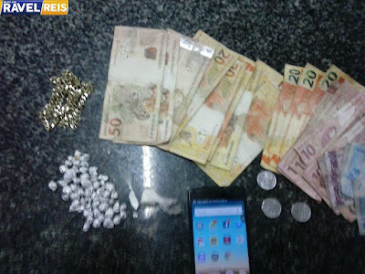 Jovem é preso com 54 pedras similares de crack em Mata Roma
