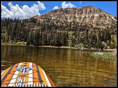 Bald Mountain view from my Kayak on Moosehorn Lake