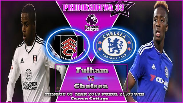 Prediksi Fulham vs Chelsea 03 Febuari 2019