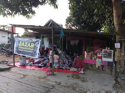 PMII Kutim Bersama LKK Kutim Gelar Bazar Pakaian Layak Pakai