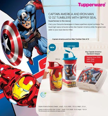 captain America and Iron man 12 Oz Tumblers with sipper seal