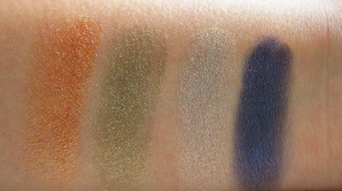 Swatches: ALCINA Miracle Eye Shadow Duo´s in autumn & winter