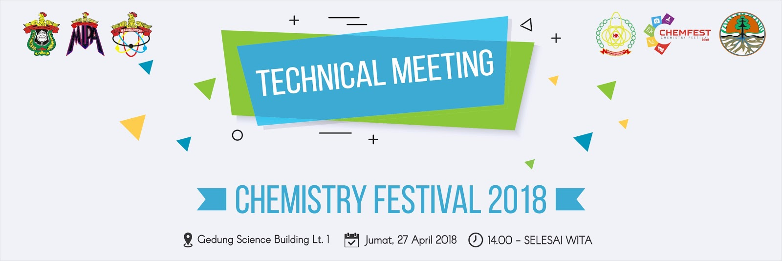 Technical Meeting Chemistry Festival 2018