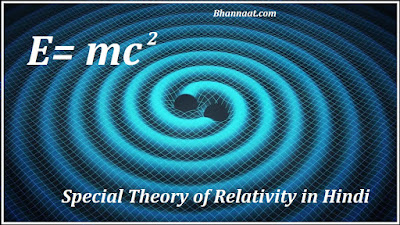 Einstein Special Theory of Relativity in Hindi