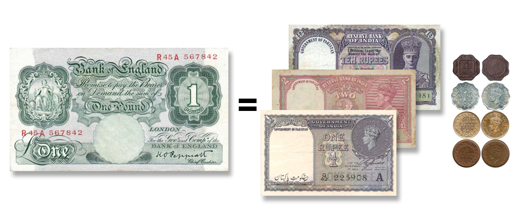 How Much Was 1 Usd To Pkr In 1947