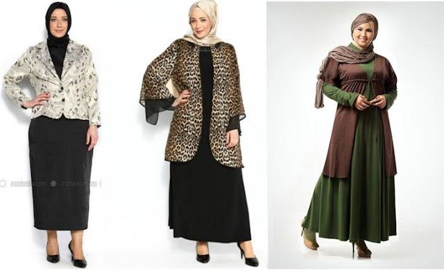 Tips Berpakaian Baju Muslim Bagi Wanita Gemuk Agar Terlihat Cantik