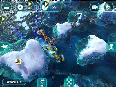 Download Naval Storm TD Mod Apk Terbaru