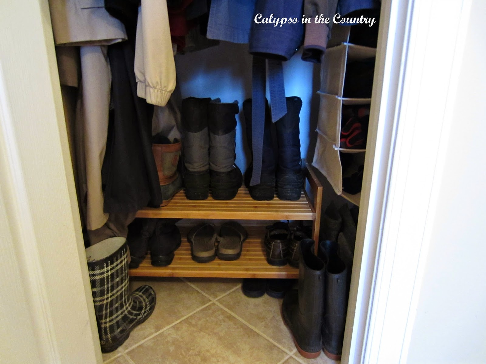 Delightful How To Organize Boots In Closet Part   11: I Bought A Bamboo Shoe