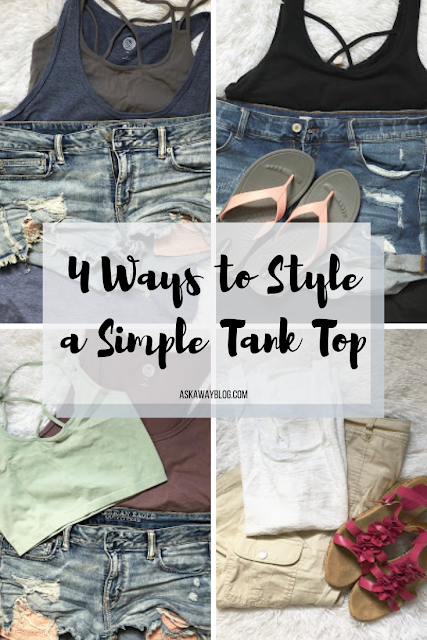 4 Ways to Style a Simple Tank Top