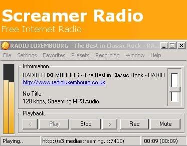 screamer radio 2011