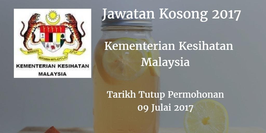Jawatan Kosong KKM 09 Julai 2017