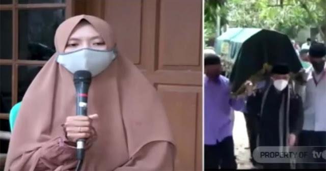 Cerita Pilu Istri Ustadz Maaher, Ungkap Kondisi Suami Sebelum Meninggal