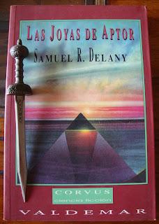 Portada del libro Las joyas de Aptor, de Samuel R. Delany