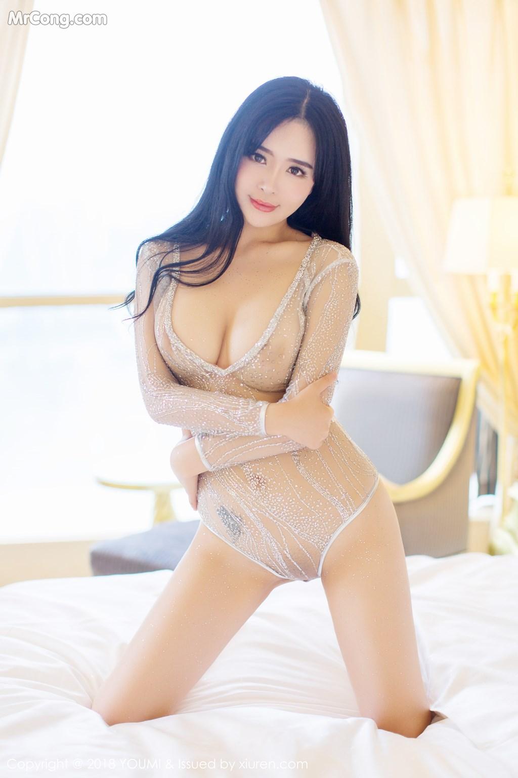 Image YouMi-Vol.124-Liu-Yu-Er-MrCong.com-010 in post YouMi Vol.124: Người mẫu Liu Yu Er (刘钰儿) (41 ảnh)