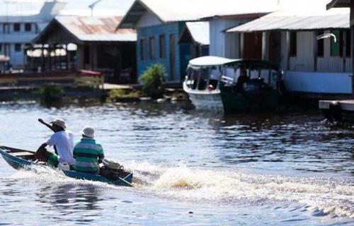 MANAUS: Nível do Rio Negro atingiu maior marca dos últimos 119 anos