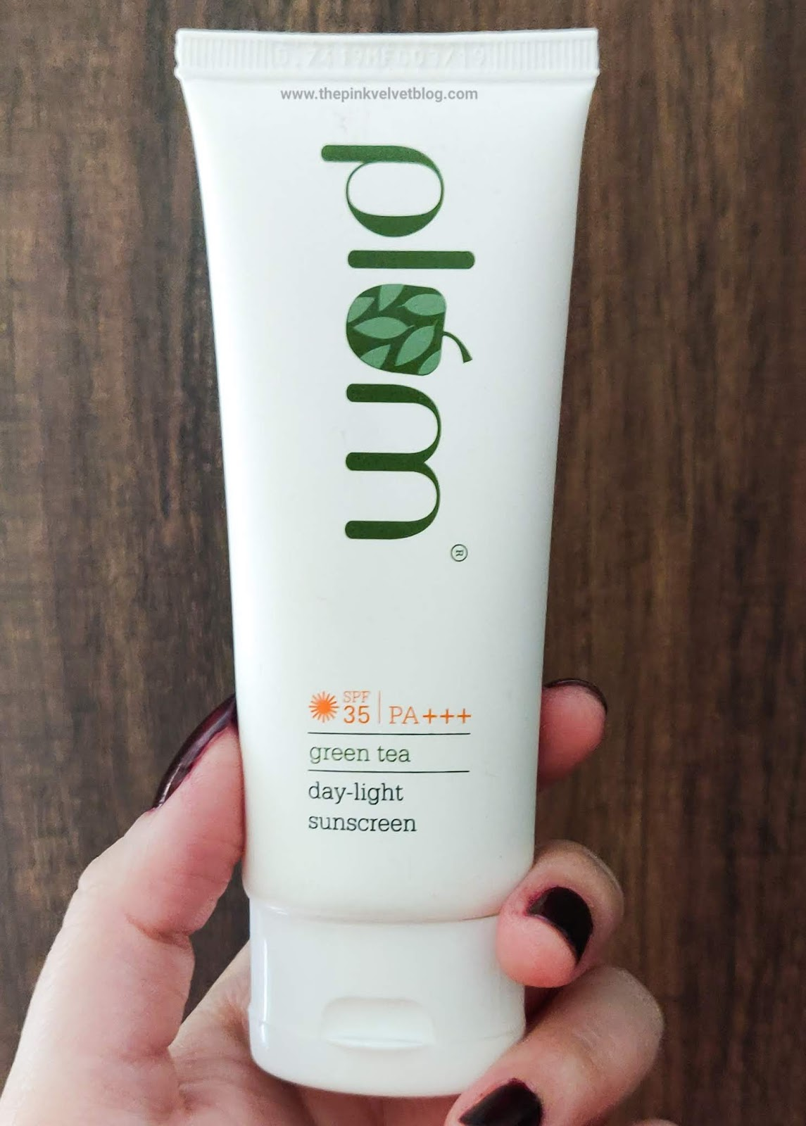 Plum Green Tea Sunscreen SPF-35 and PA+++ Review
