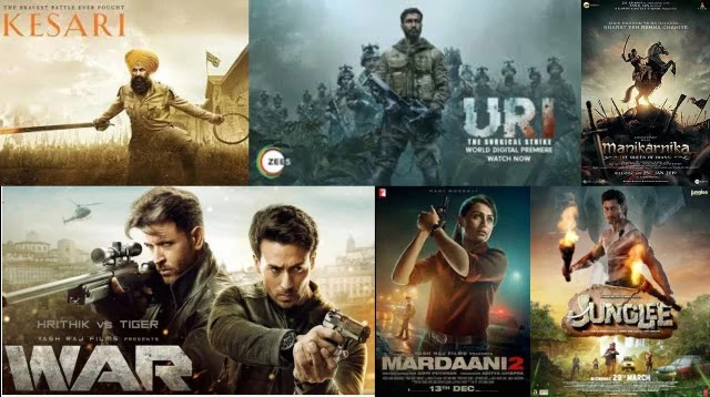 Top Bollywood Action Movies of 2019