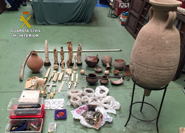 Over 41 000 artefacts seized in global operation targeting the illicit trafficking of cultural goods