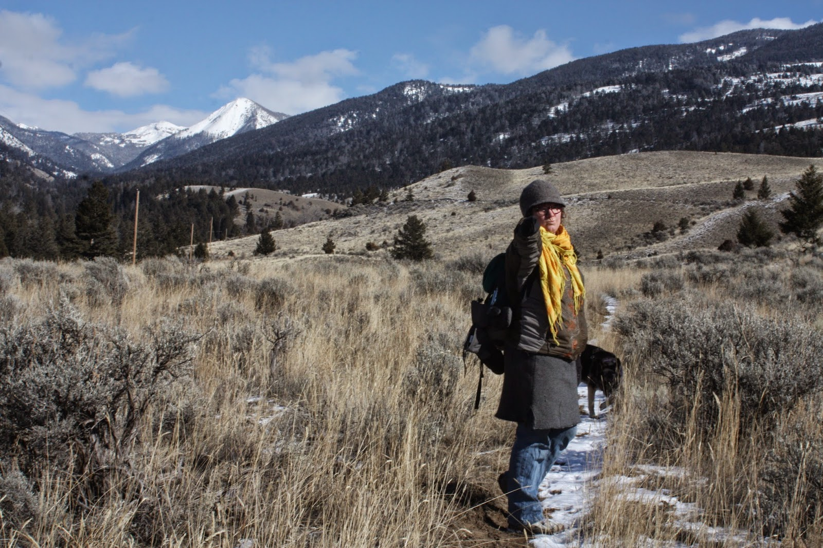 Greater Yellowstone Guru: OTO Ranch Entrance Revamp
