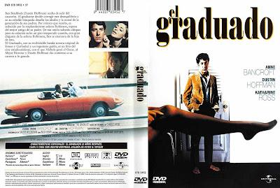 Carátula dvd: El graduado / The Graduate