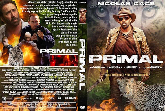 Primal DVD Cover