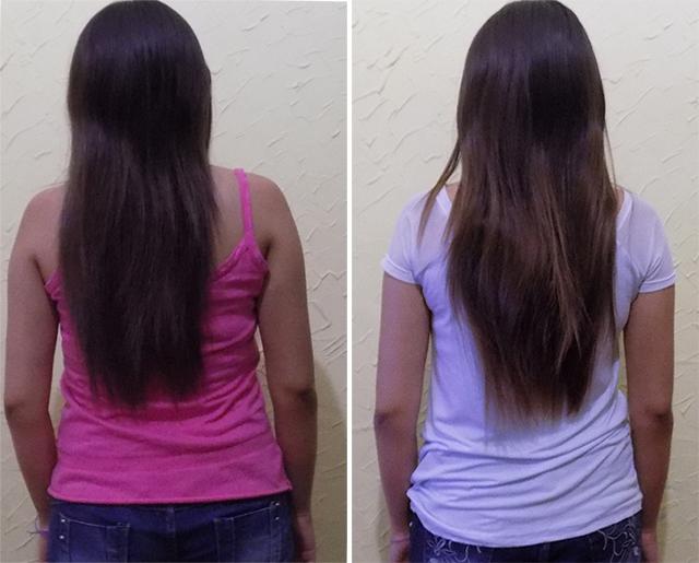 Resultado de crescimento do Shampoo SOS bomb! Hair Fly