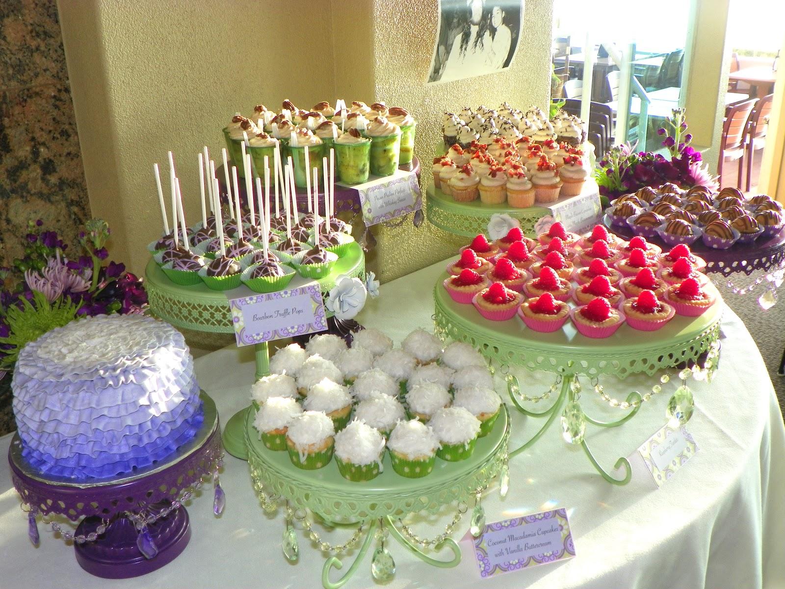 plumeria cake studio 40th birthday mini dessert buffet cake. Black Bedroom Furniture Sets. Home Design Ideas