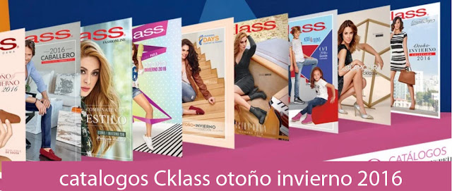 Catalogos CKLASS 2016 digitales otoño invierno
