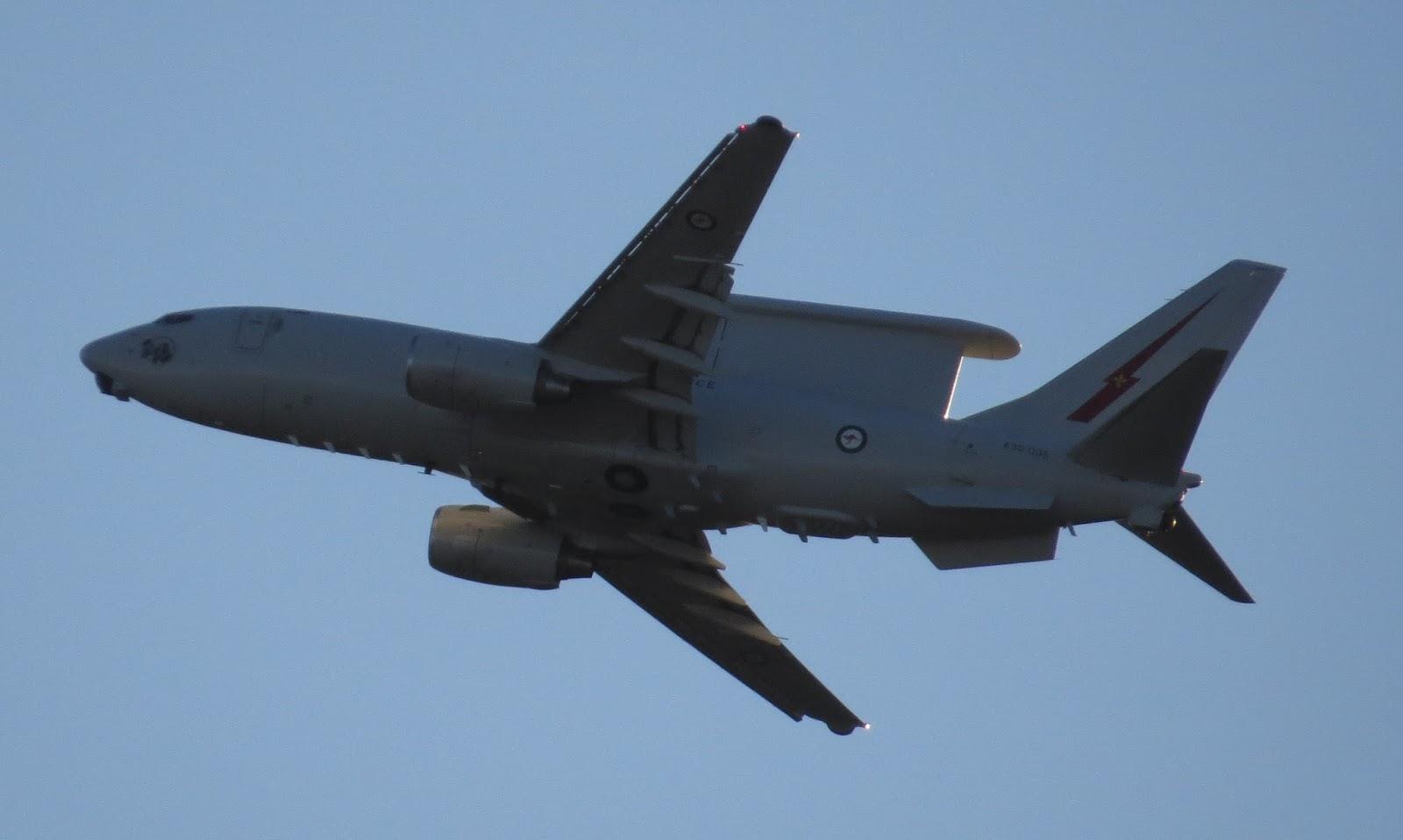 Central Queensland Plane Spotting: RAAF Boeing B737-7ES ...