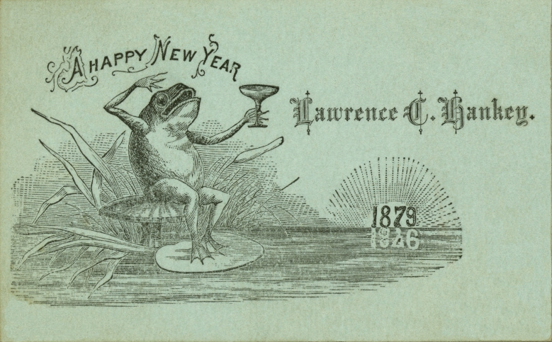 a happy new year 1879 lawrence c hankey