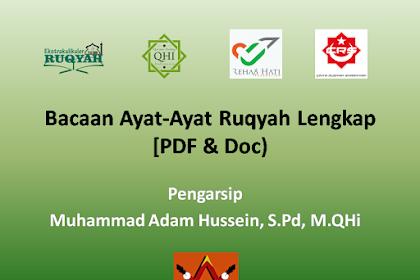 Download Bacaan Ayat-Ayat Ruqyah Lengkap