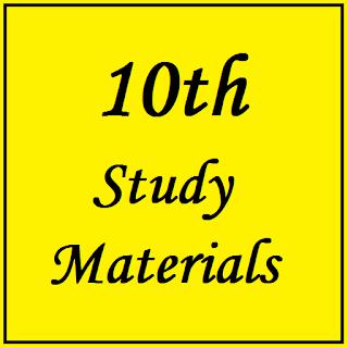10th Study Materials