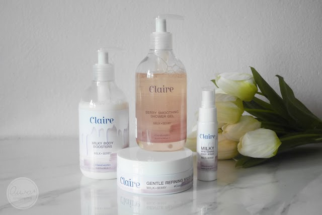 :: รีวิว Claire Milk&Berry เซตสปาอาบน้ำทำง่ายๆได้เองที่บ้าน ::