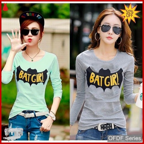 OFDF245 Atasan Blouse Batgirl 2w Modis BMGShop