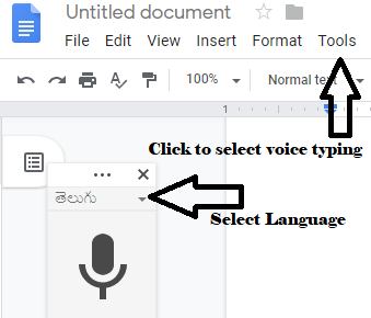 Cherry Media (CM): Google Docs voice Typing feature - How to