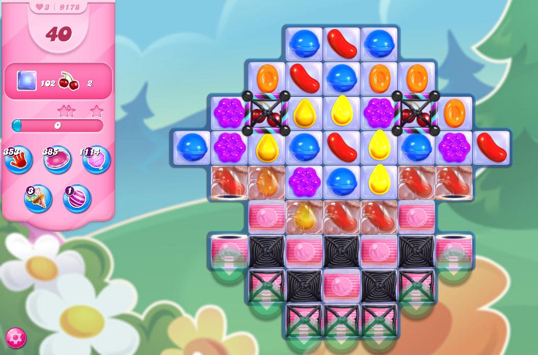 Candy Crush Saga level 9178