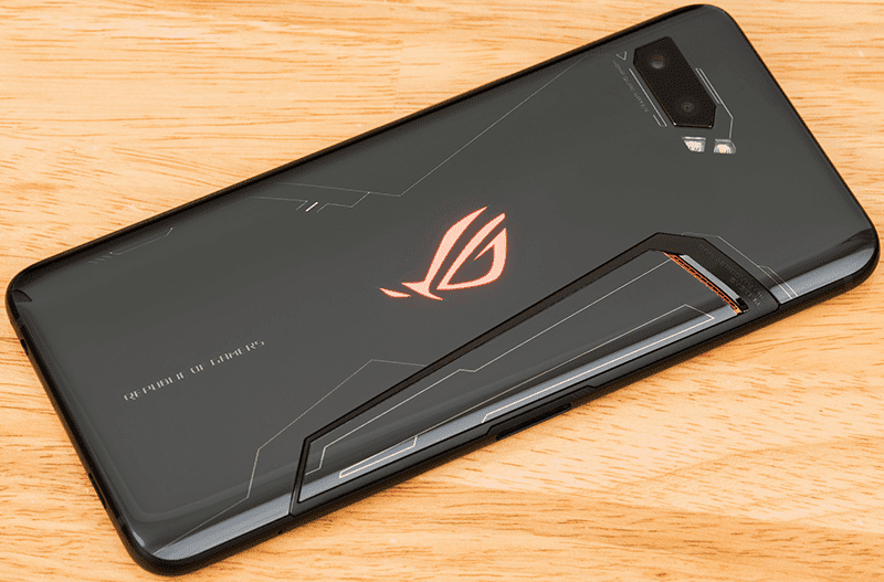 This gaming smartphone comes with dual rear camera setup and the iconic ROG Aura body