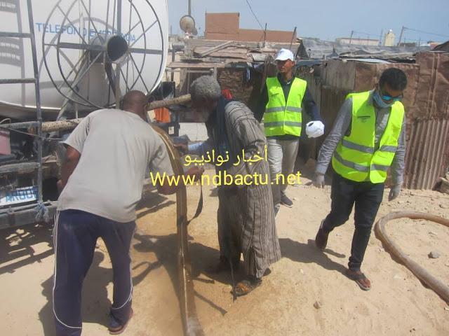 """نواذيبو : سلطة المنطقة الحرة تمنع قناة """" الموريتانية """" من الحديث عن حملة FPEMDC لتطهير المساجد و الأسواق ' و توقف الحملة.."""