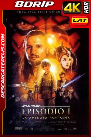Star Wars Episodio I: La amenaza fantasma (1999) 4K BDrip HDR Latino – Ingles