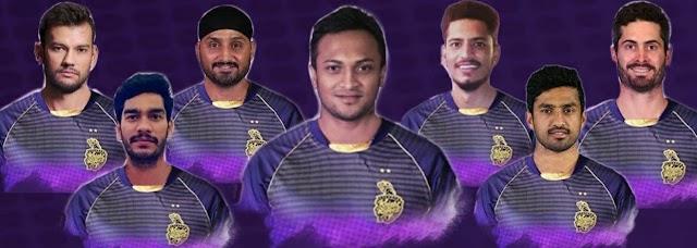 IPL 2021 : Kolkata Knight Riders Full Players List
