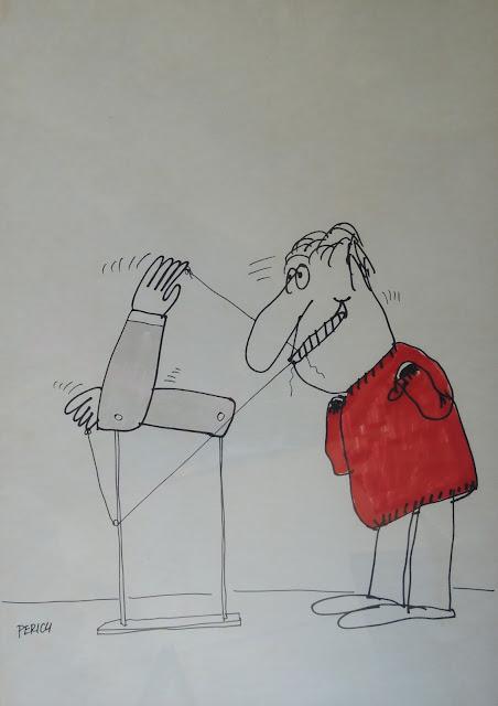 Jaume Perich ilustración dibujo elecciones Gaudifond Arte
