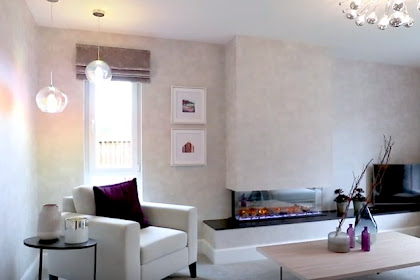 Glasgow Style Architecture for Living Room Design