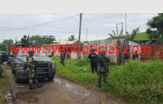 Caen siete secuestradores y liberan a cinco migrantes en Coatzacoalcos Veracruz