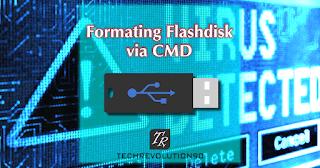 Proses Pembersihan Flashdisk Melalui CMD