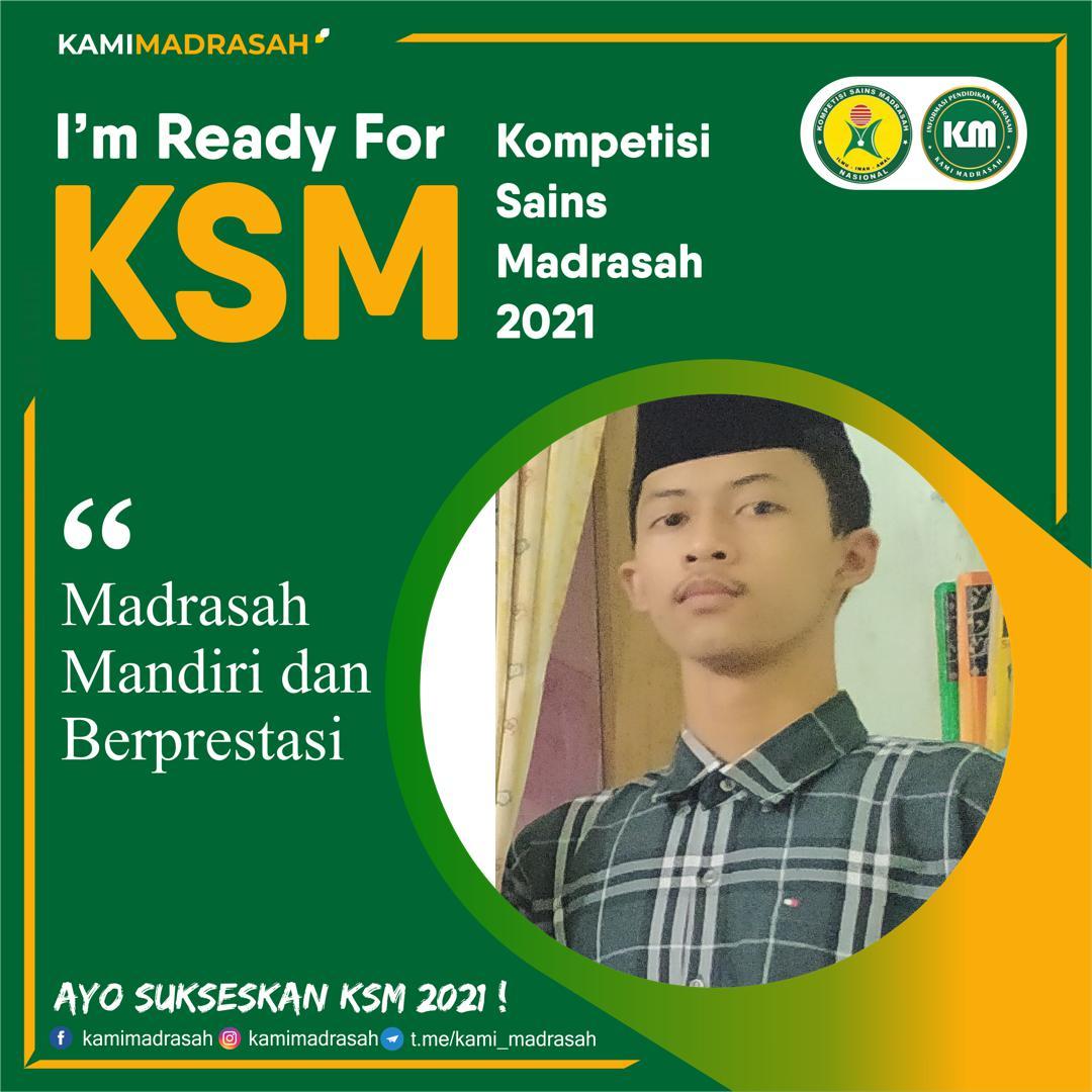 Ketua OSIS MAN 2 Raih Juara I KSM Kabupaten Kebumen