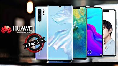 Top 5 Huawei Best Smartphones 2019 Image