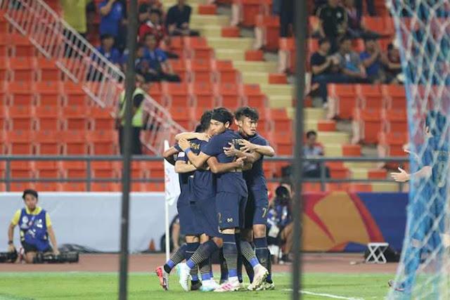 Video U23 Thái Lan 1-1 U23 Iraq: Sai lầm 11m, thót tim ngược dòng hiệp 2