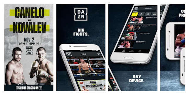 Download & Install DAZN Live Fight Sports: Boxing, MMA & More Mobile App