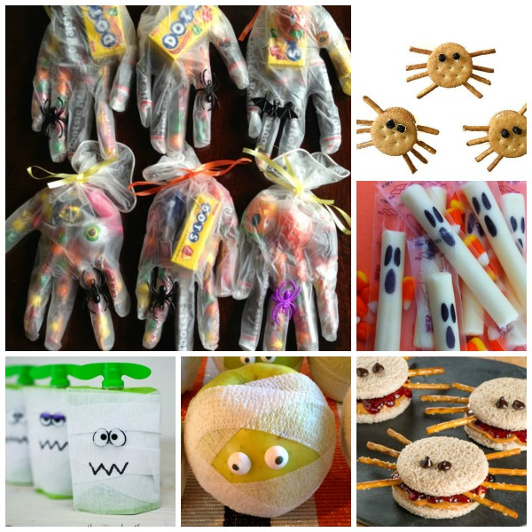 easy adorable halloween treat ideas for kids great for class parties and lunchbox surprises - Halloween Trets